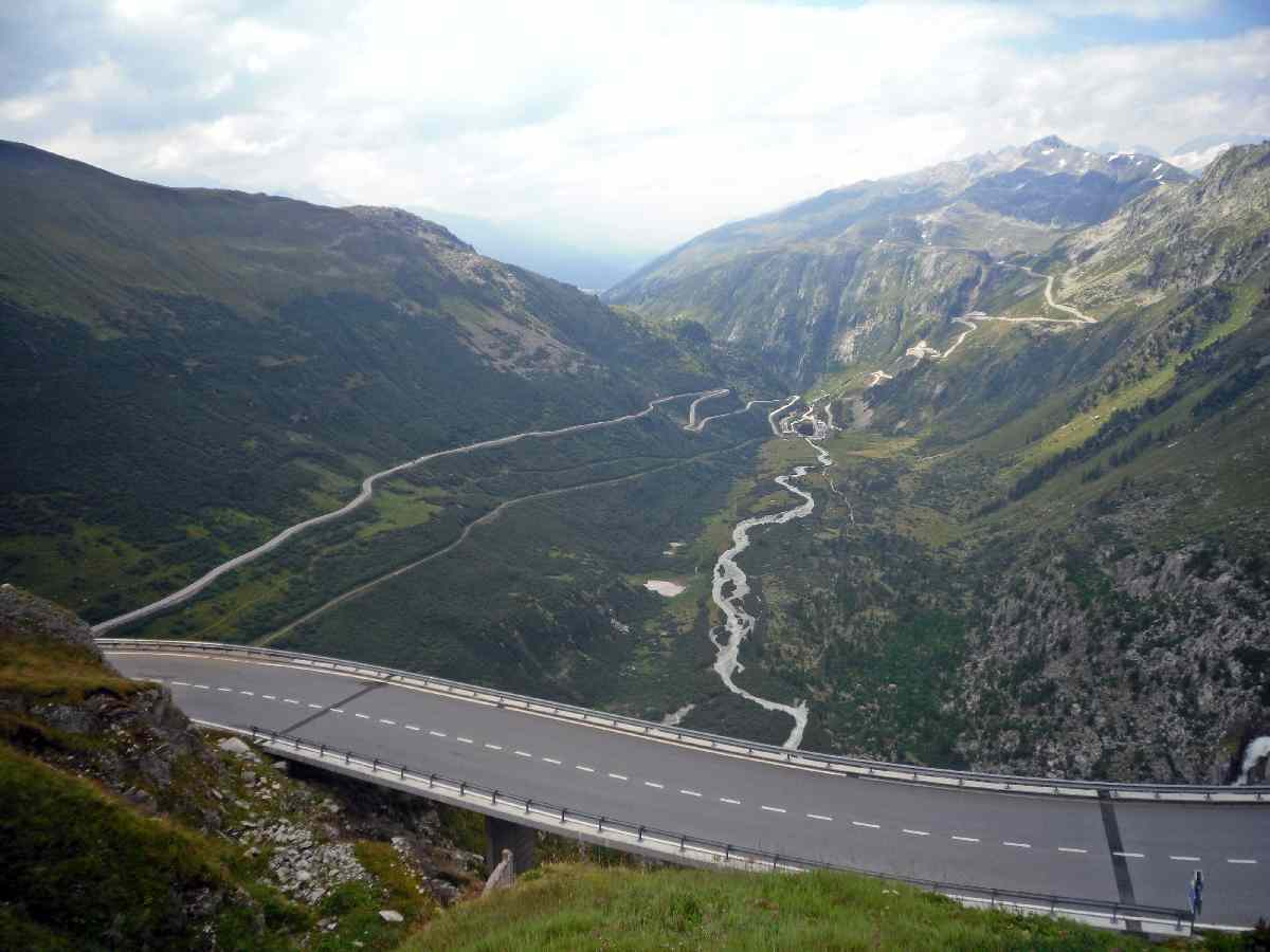 Furka Pass - TEN zjazd!