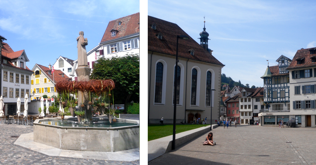 Sankt Gallen, czyli spotkanie po latach