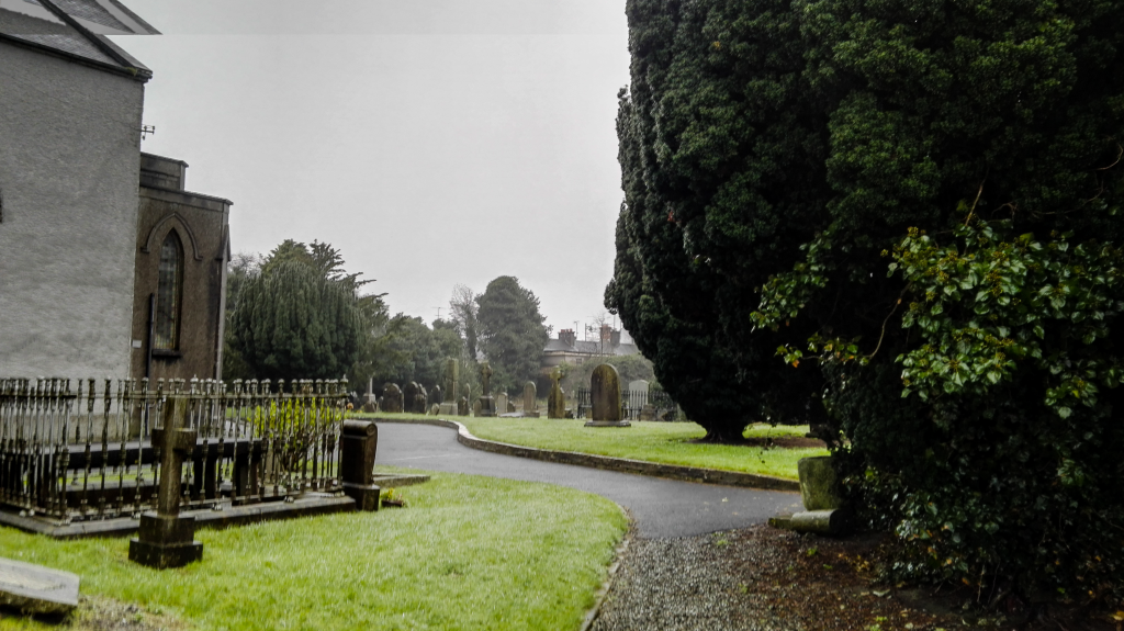 Opactwo w Kells, cmentarz