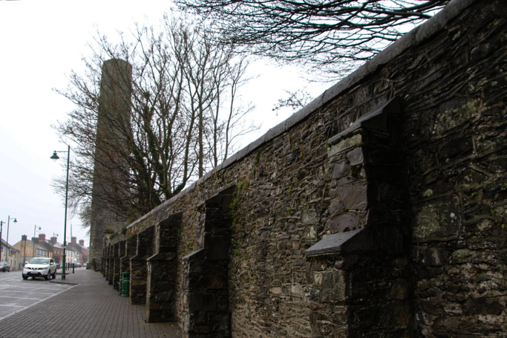 Mury opactwa w Kells