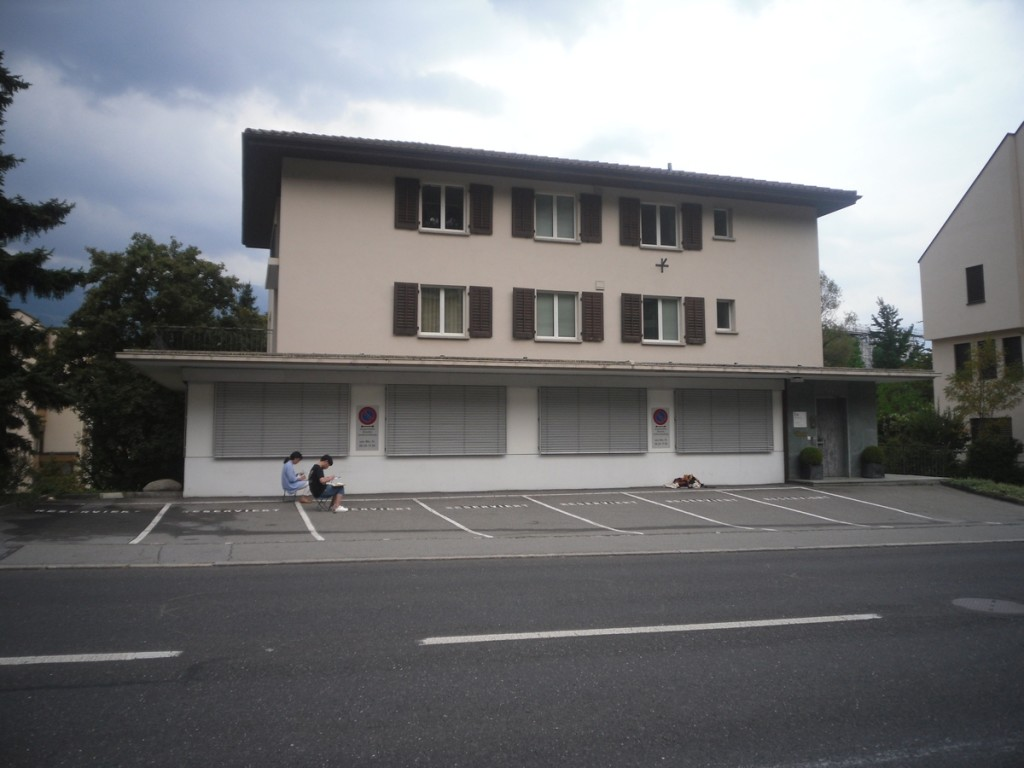 135. Vaduz, okolice katedry