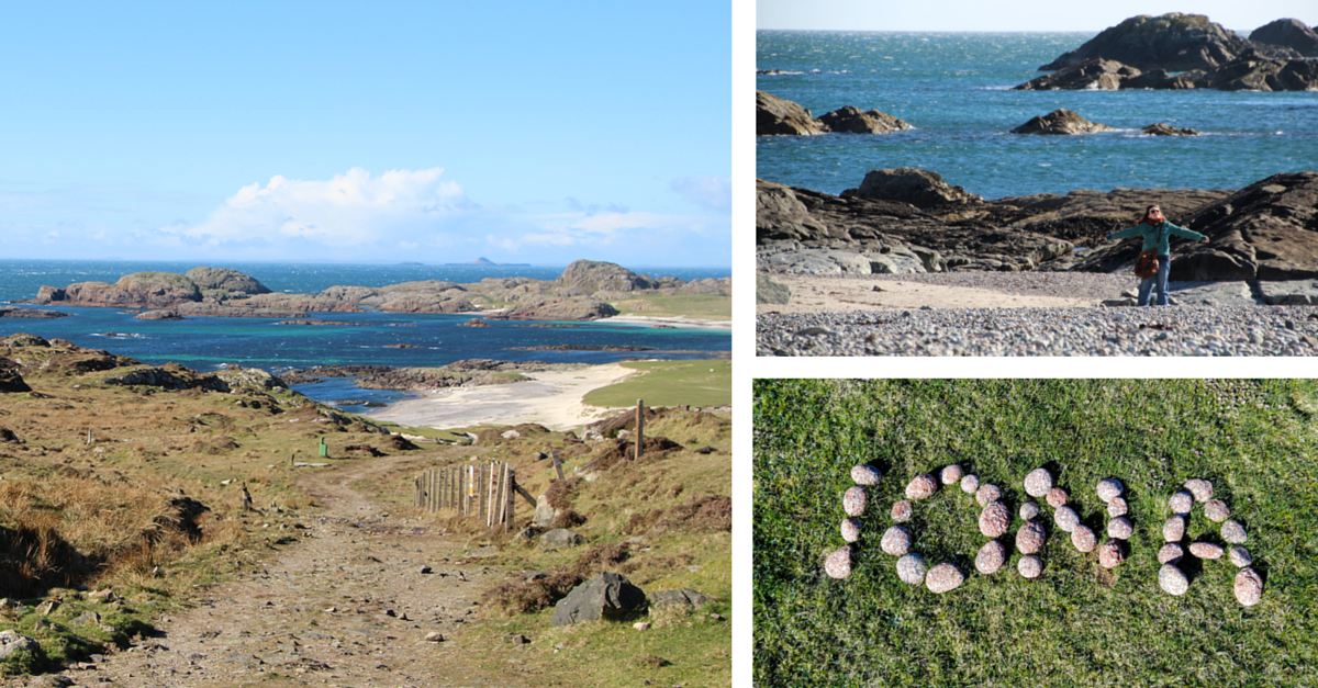 Iona i Columba's Bay – za jedną górę, za jedno morze